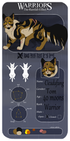 Cicadafang || TRE || ThunderClan || Warrior by halseycat