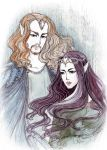Thingol and Melian by GreatQueenLina