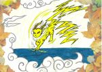 Jolteon by mythicamagic