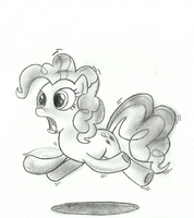 Pinkie Pie animation by Poperok