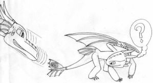 Toothles and Farenheit by Axquirix