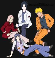 Konoha Fashion Colored by Naruto-1949