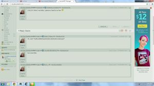 One refresh, 5 comments at a time. :O by Mordecai-Fan