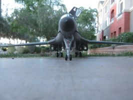1/48 Scale B-1B Lancer (Front) by Coffeebean2