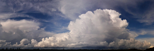 Storm Clouds Panoramic by TearsofEndearment