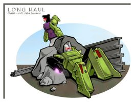 Long Haul - unauthorised break by WaywardInsecticon