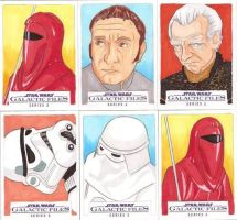 Star Wars Galactic Files Series 2 Sketch Cards 16 by Tyrant-1