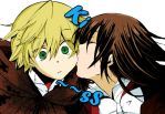 Alice and Oz - Kiss by beccyboo-412