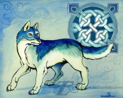 Celtic Wolf by felixxkatt