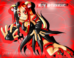 Mew Boysenberry: CMM Request by Sneko-chan