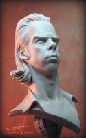 Nick Cave Bust 001 by TrevorGrove