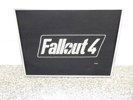Fallout 4 Gaming Cross Stitch by SynergyStitches