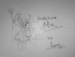 Hatsune Miku By Me. by RanmaGirlSaotome