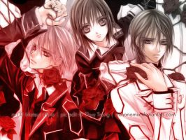 Vampire Knight Wallpaper by Minanomix
