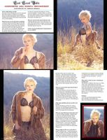 My new spread in Bella Morte Magazine! by Anesthetic-X