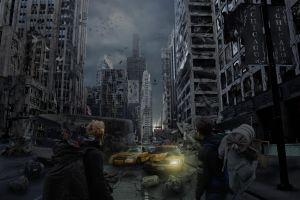 Ruined Chicago by AlexEngine