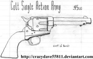 Colt Single Action Army by CrazyDave55811