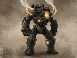 SteamPunk-Juggernaut Process by Farkwhad