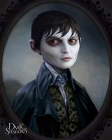 Portrait of Barnabas Collins by nonnahs144
