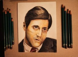 Don Michael Corleone by Gutter1333