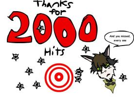 thanks for 2000 hits by Vincent-Nefarious