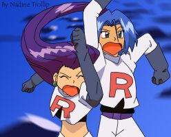 Team Rocket Icy by Senshee