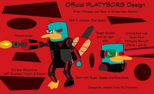Official Platyborg Design by RedJoey1992