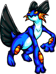 Swampert by NeonDragonGirl