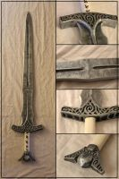 Skyrim Steel Sword by Sephiroths-Shadow