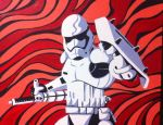 Trooper of the First Order. by Dharmajon