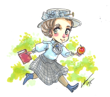 young Hetty King by Lahara