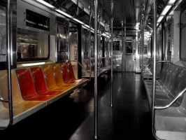 Lonely Subway by GestianPoet21