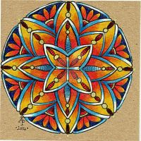 Mandala 28May2014 by Artwyrd