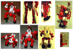Santa's Holly Jolly Mech for the Naughty Ones by R603