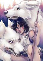 :Princess Mononoke: by Kinky-chichi