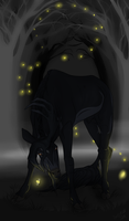 Leslie | Stag | Witch by SunsetRevelation