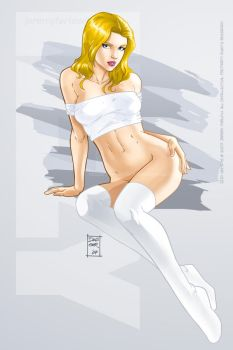 Classic Pinup: Izzy by DaggerPoint