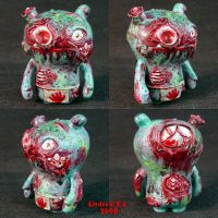 Zombie Wage Uglydoll Converion by Undead-Art