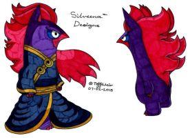 Silveena Costume and Model Designs 1 by trinityweiss