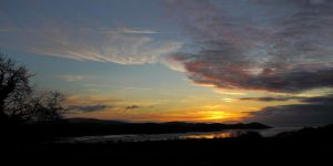 Dawn over Auchencairn Bay by Okavanga