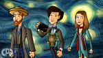 Vincent and the Doctor by CPD-91