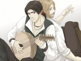 The Lutenist and the Student by Lillilolita