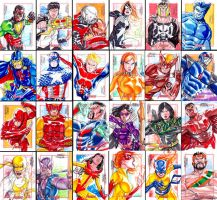 Marvel Greatest Heroes - part 01 by MarcFerreira