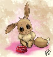 Bonie the Eevee by MisterPloxy