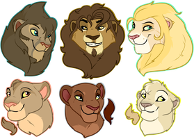 Trade/Sale Lion Busts: closed by oCrystal