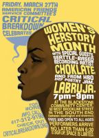 Women's Herstory Flyer by biz02
