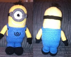 Minion crochet revised by Anaseed
