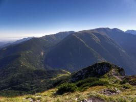 View from Sivy vrch by neral85