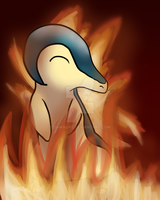Cyndaquil by Dawnlife