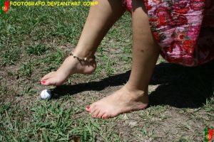 The Golf Ball Test 2 by Footografo